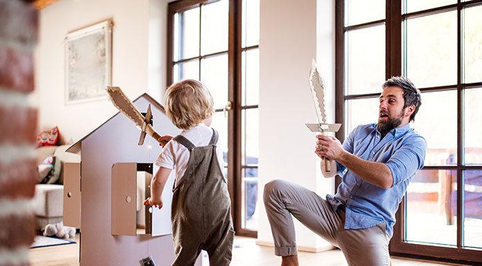 Top 10 zabaw dla dzieci w domu