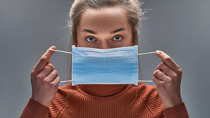 Jednorazowe maseczki ochronne na twarz